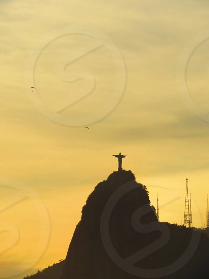 Cristo Redentorsunsetrio de janeiroskynature photo
