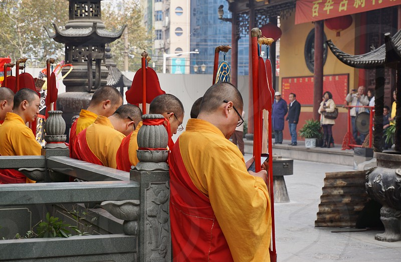 Jade Buddha Temple - Shanghai China photo