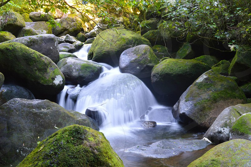 Slow shutter of Wairere stream photo