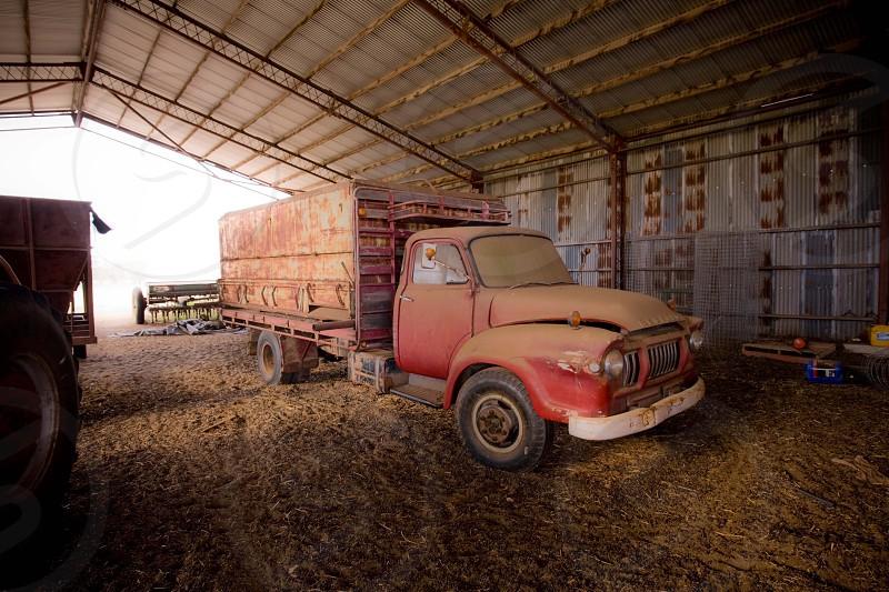 Old farm truck photo