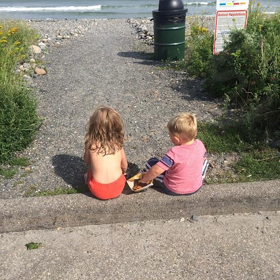 Ocean summer love photo
