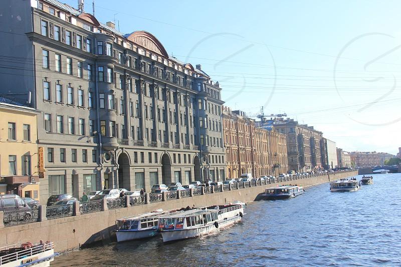 St.Petersburg Fontanka landscape architecture photo