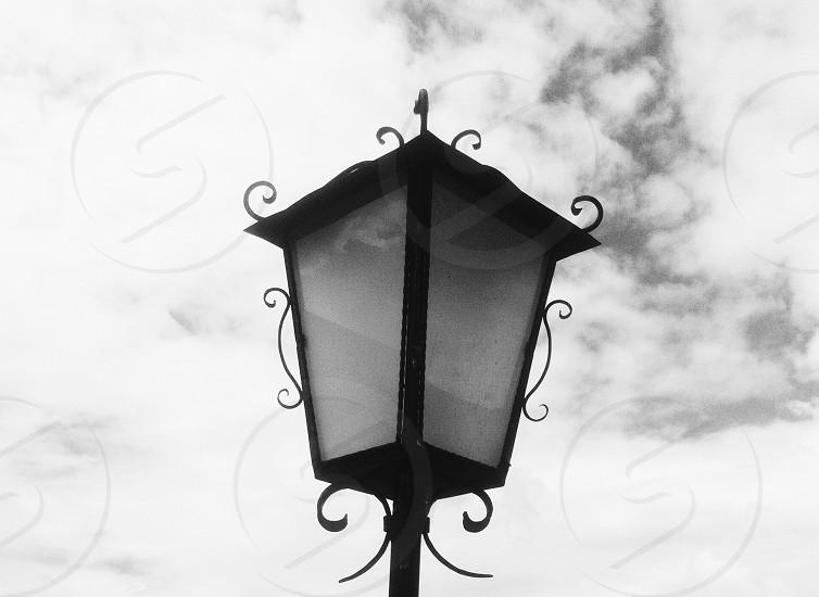 lantern light street light photo