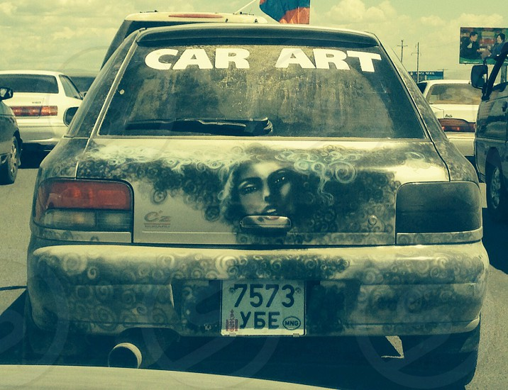 Car art photo