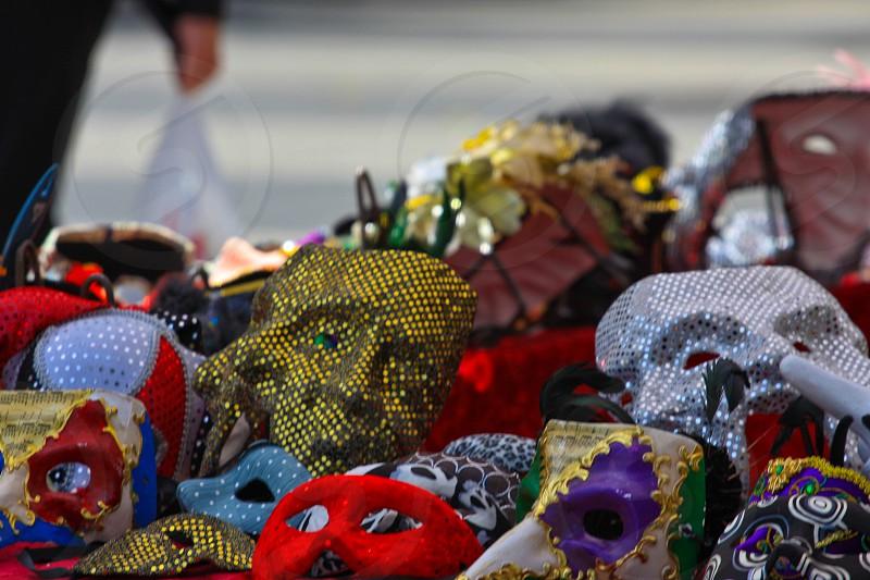 Faces of color Masks photo