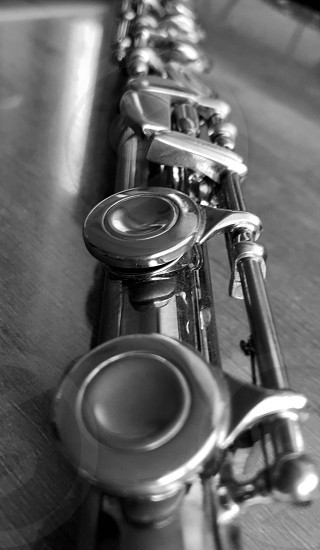 Music flute b&w objects still life instruments photo