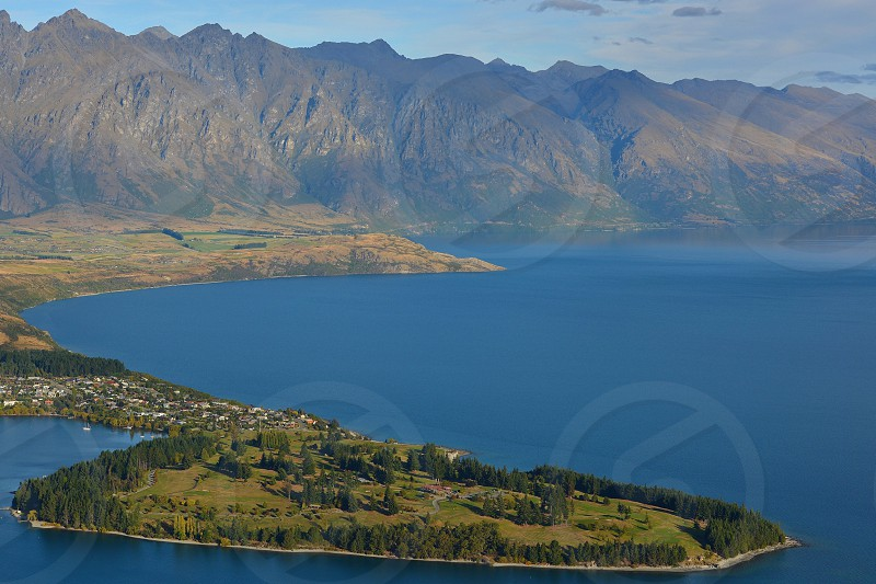 Queenstown New Zealand Nature Landscape Travel Water Lakes Surreal Majestic Magic Hour lake wakatipu outdoors mountains remarkables hiking gods creations earth photo