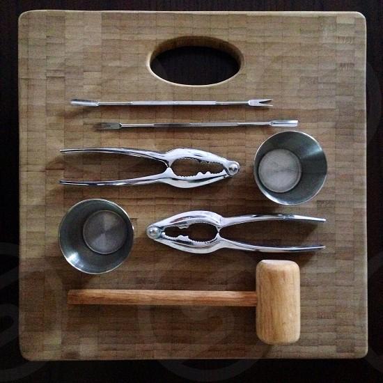Seafood Tools. photo