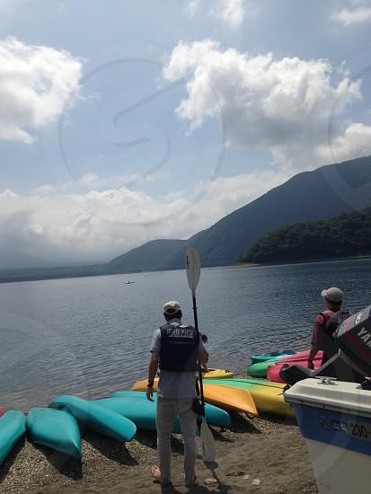 canoe カヌー photo