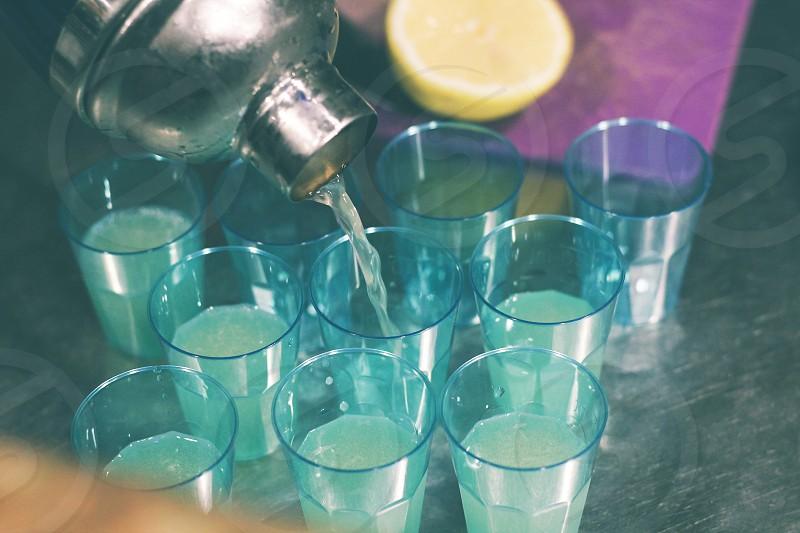 shot of vodka sawer photo