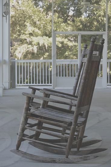 Rocking-chair porch  photo