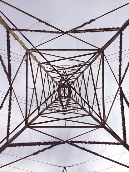 black and grey electric tower photo