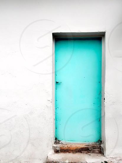 Minimalist march door  photo
