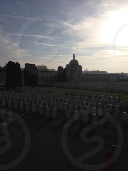 War graves photo