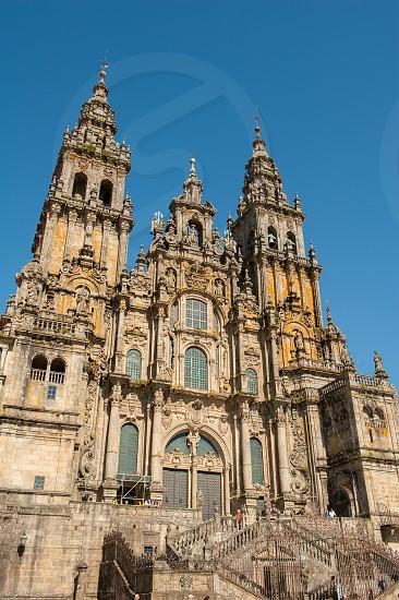 Santiago de Compostela Cathedral exterior view. photo