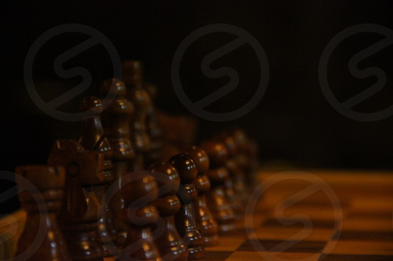 brown chess game photo