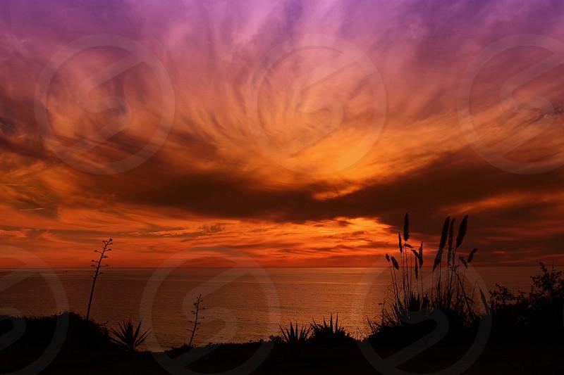 Sunset in Redondo Beach California photo