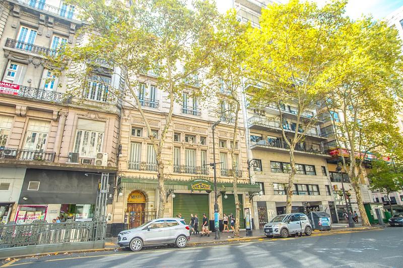 Café tortoni avenida de mayo. photo
