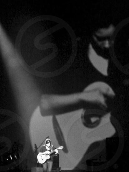 Guitarist. Music photo