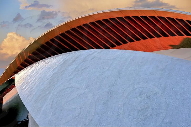 architectureconstructionlinescurvesgeometryshapes photo