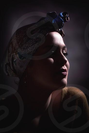 Studioportrait modelgirl  photo