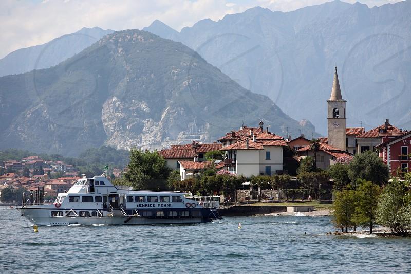 Die Insel Isla Pescatori auf dem Lago maggiore in der Lombardei in Italien.   (KEYSTONE/Urs Flueeler) photo