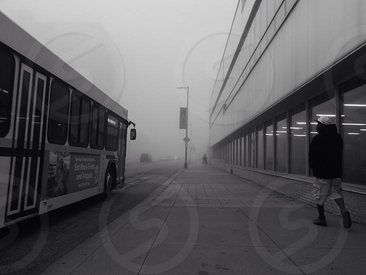 detroit fog... photo