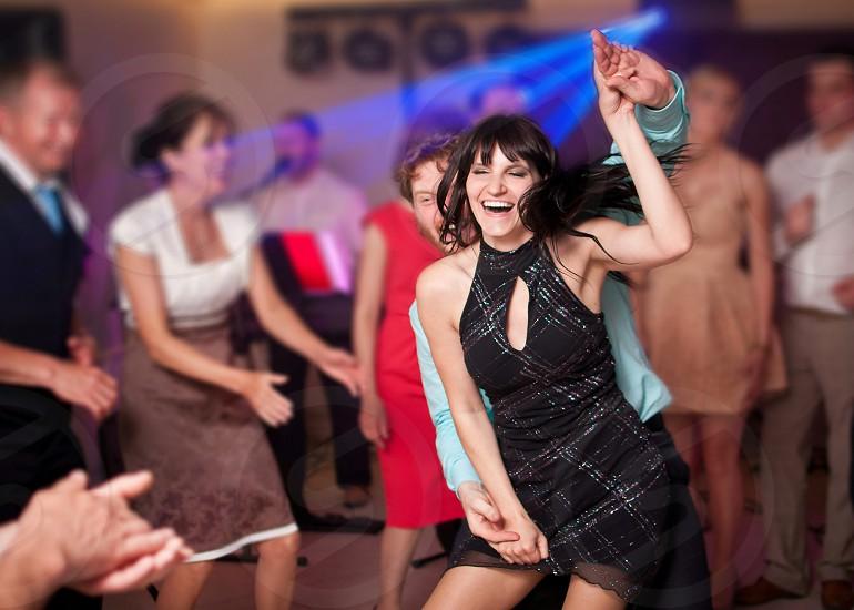 people woman girl man party fun joy dance happy emotions photo