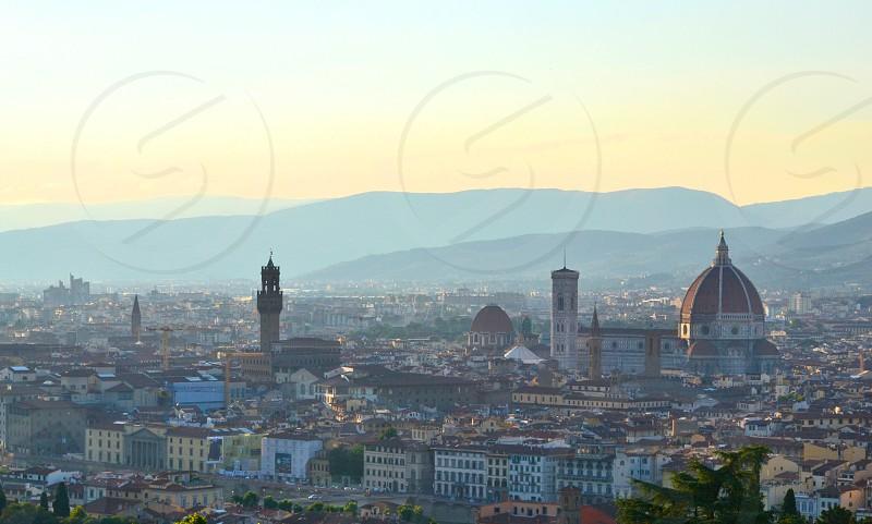 Florence at dusk photo
