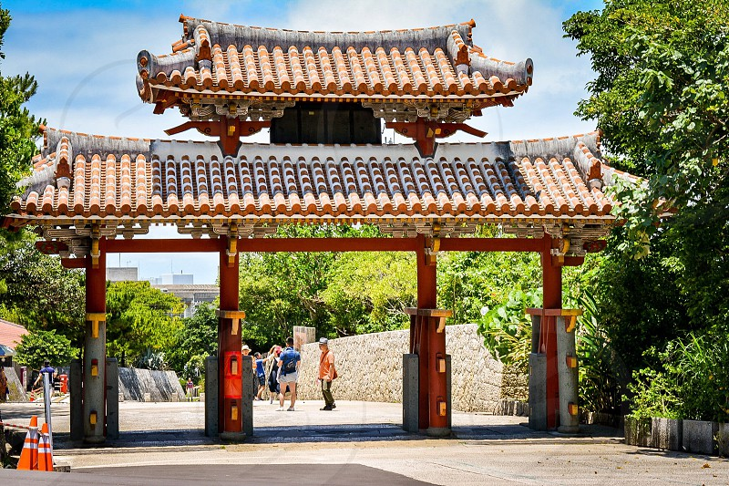 Best shot gate Japanese  photo