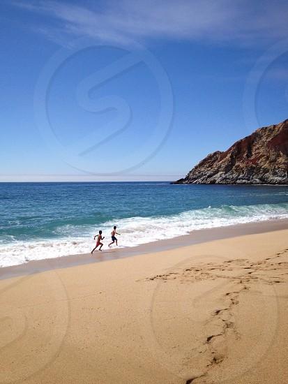 Gray Whale Cove State Beach. San Mateo CA photo