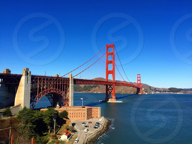 San Francisco Bridge ; Golden Gate Bridge ; Landscape ;  photo