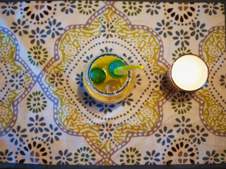 Margaritas and new placemats  photo