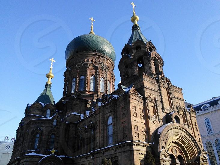 St. Sophia Cathedral in Harbin China photo