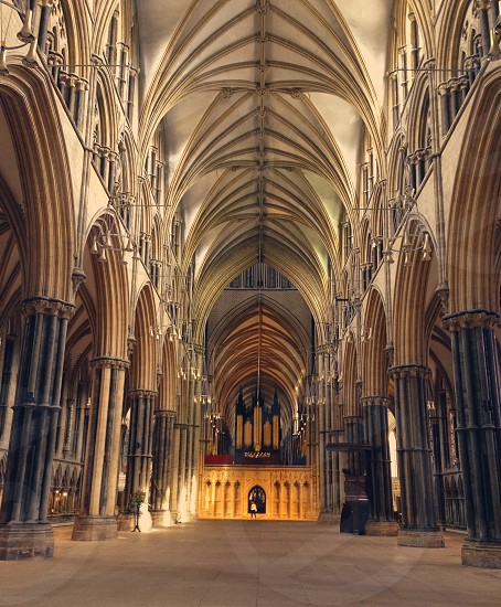 Cathedral architecture historic iconic gothic photo