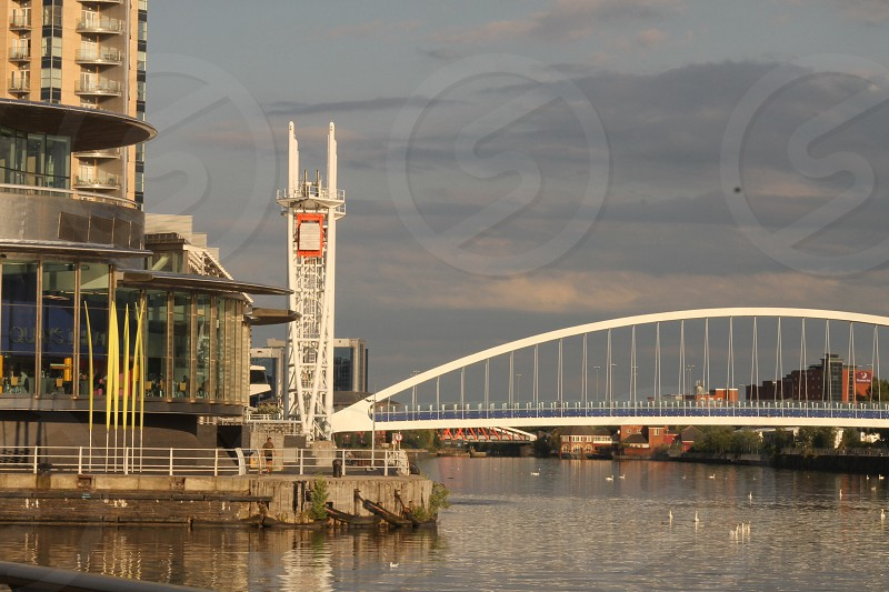 Bridge by the Lowry  Manchester Ship Canal photo