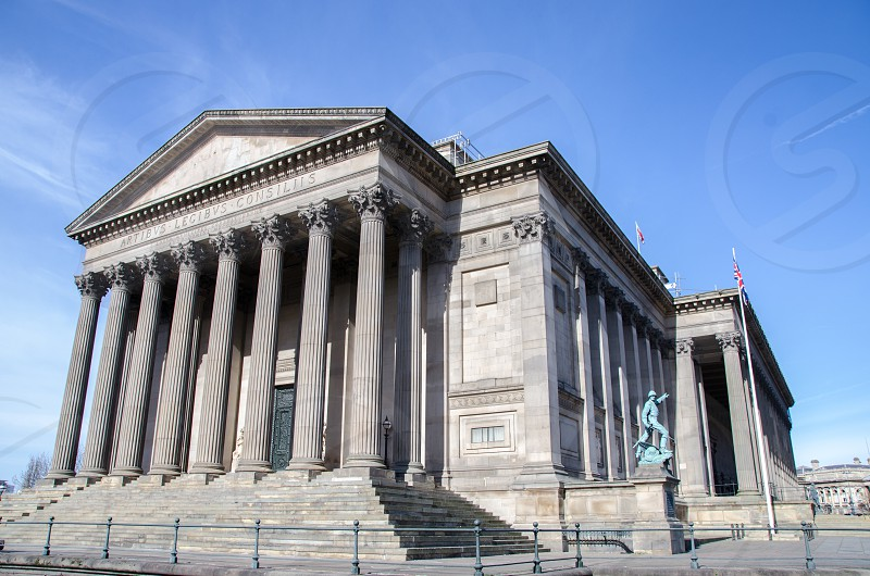 St George's Hall Liverpool UK photo