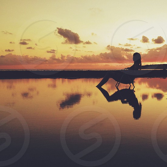 Beach chair photo