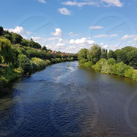 River Severn Bridgnorth. photo