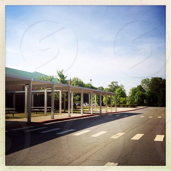 Elementary school - empty photo