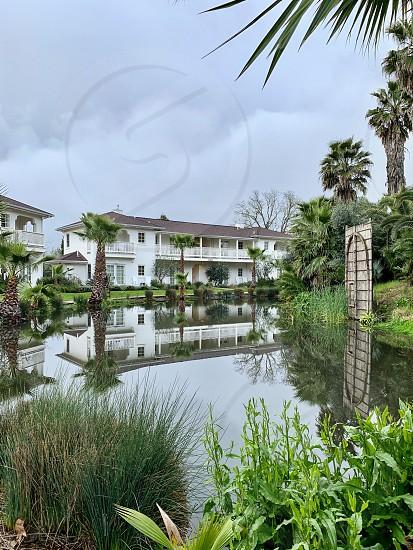 Hotel landscaping  photo