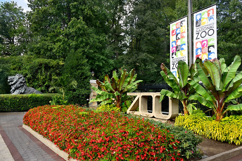 Entrance to the National Zoo. photo