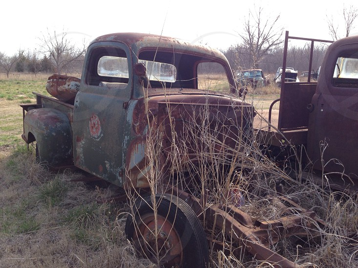Old truck Oklahoma photo