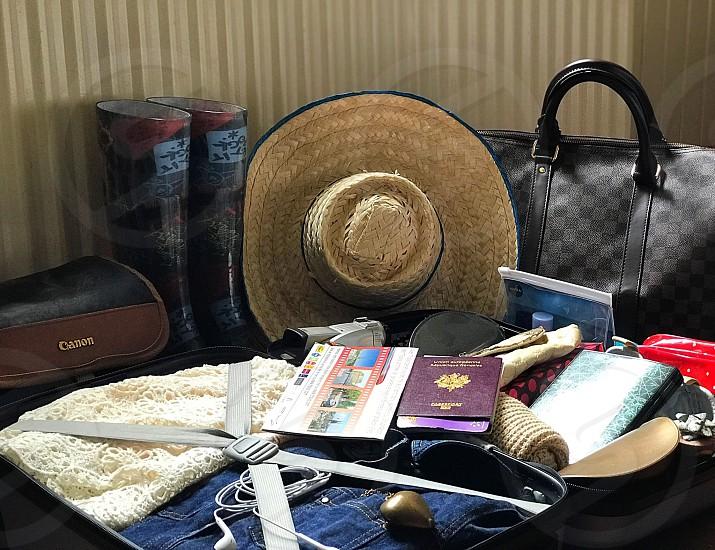 Travel preparation  photo