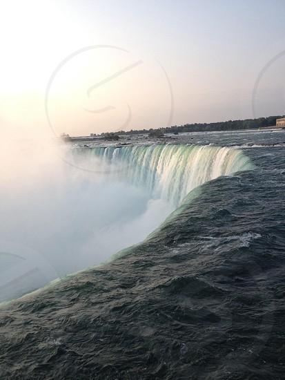 Waterfalls Canada Niagara Falls photo
