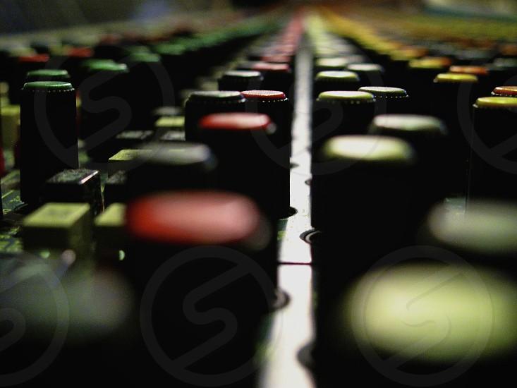 multicolor sound board photo