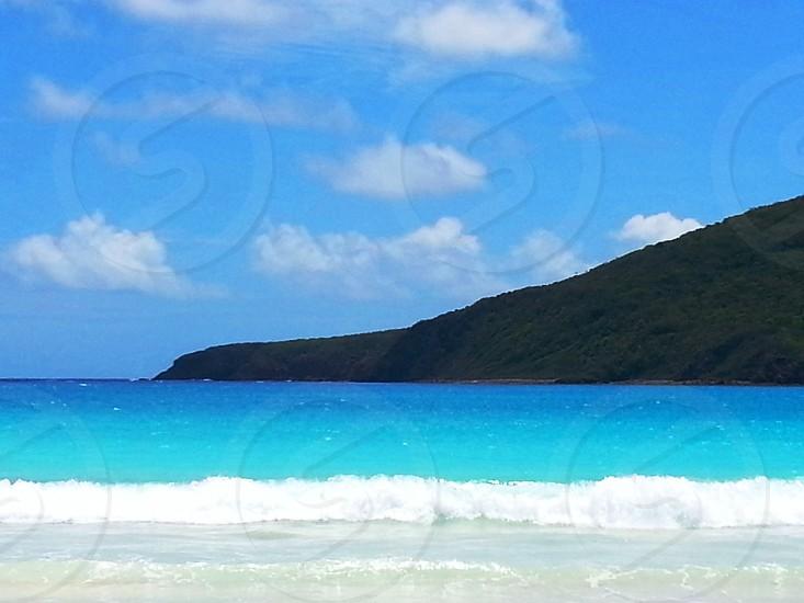 Flamenco beach in Culebra photo
