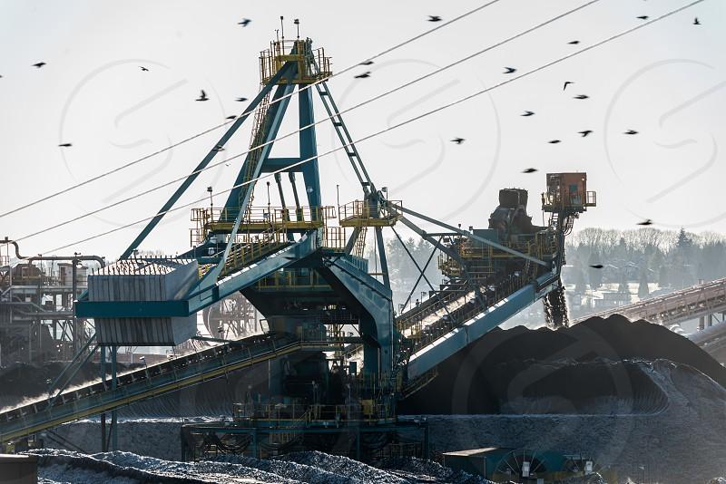 Neptune coal pile photo