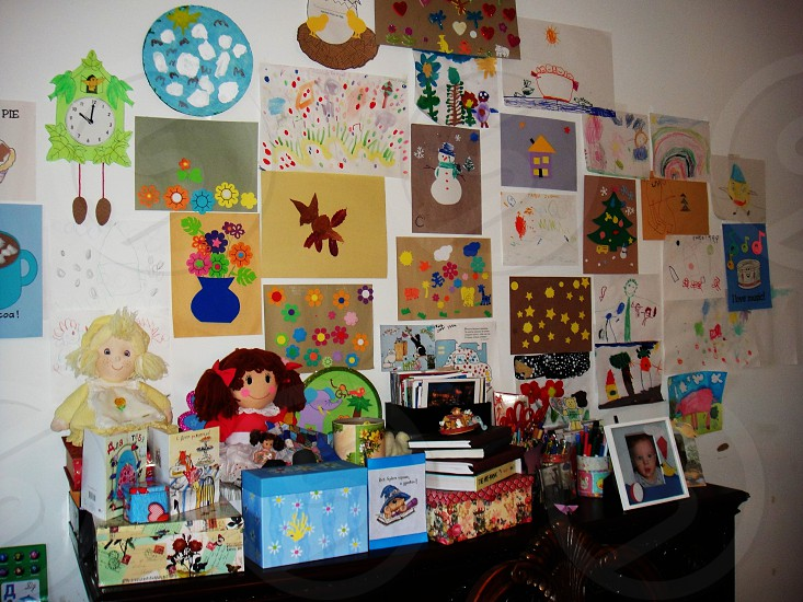 art wall pictures kids' art photo