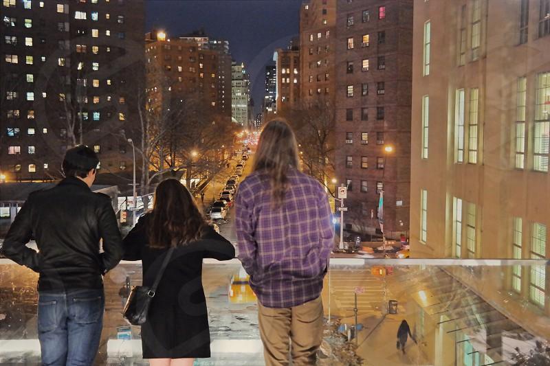 A good night; High Line NYC photo